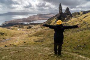 Kincardine Podiatry person on a scottish hill